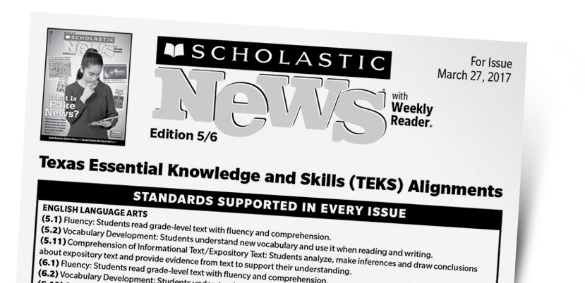 Scholastic News Edition 56 Current Nonfiction For Grade 5 And 6